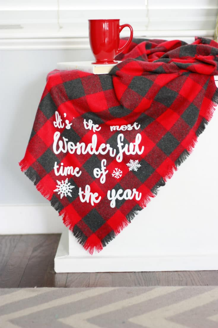No Sew Flannel Blanket