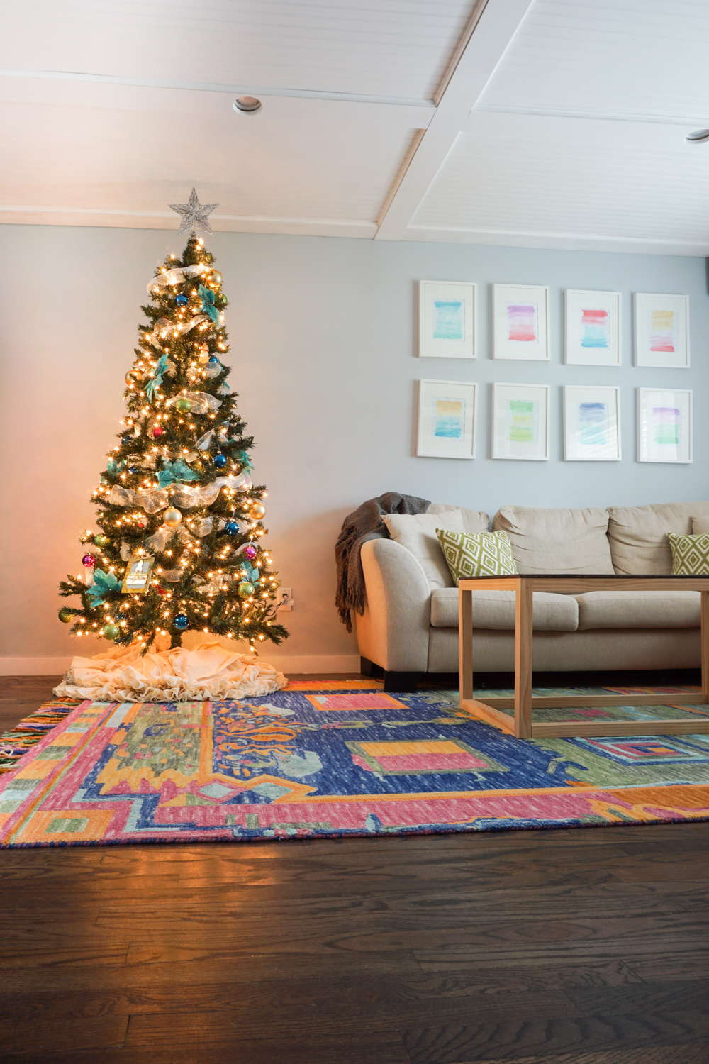 A Colorful Christmas | Amber Oliver