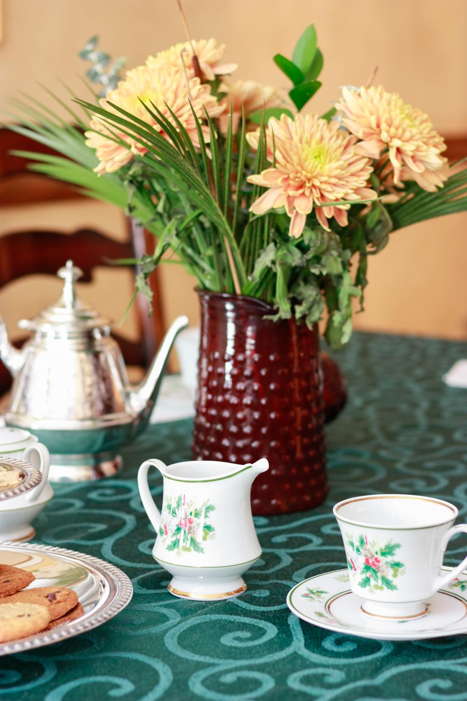Hosting a Holiday Tea Party with Milo's Tea