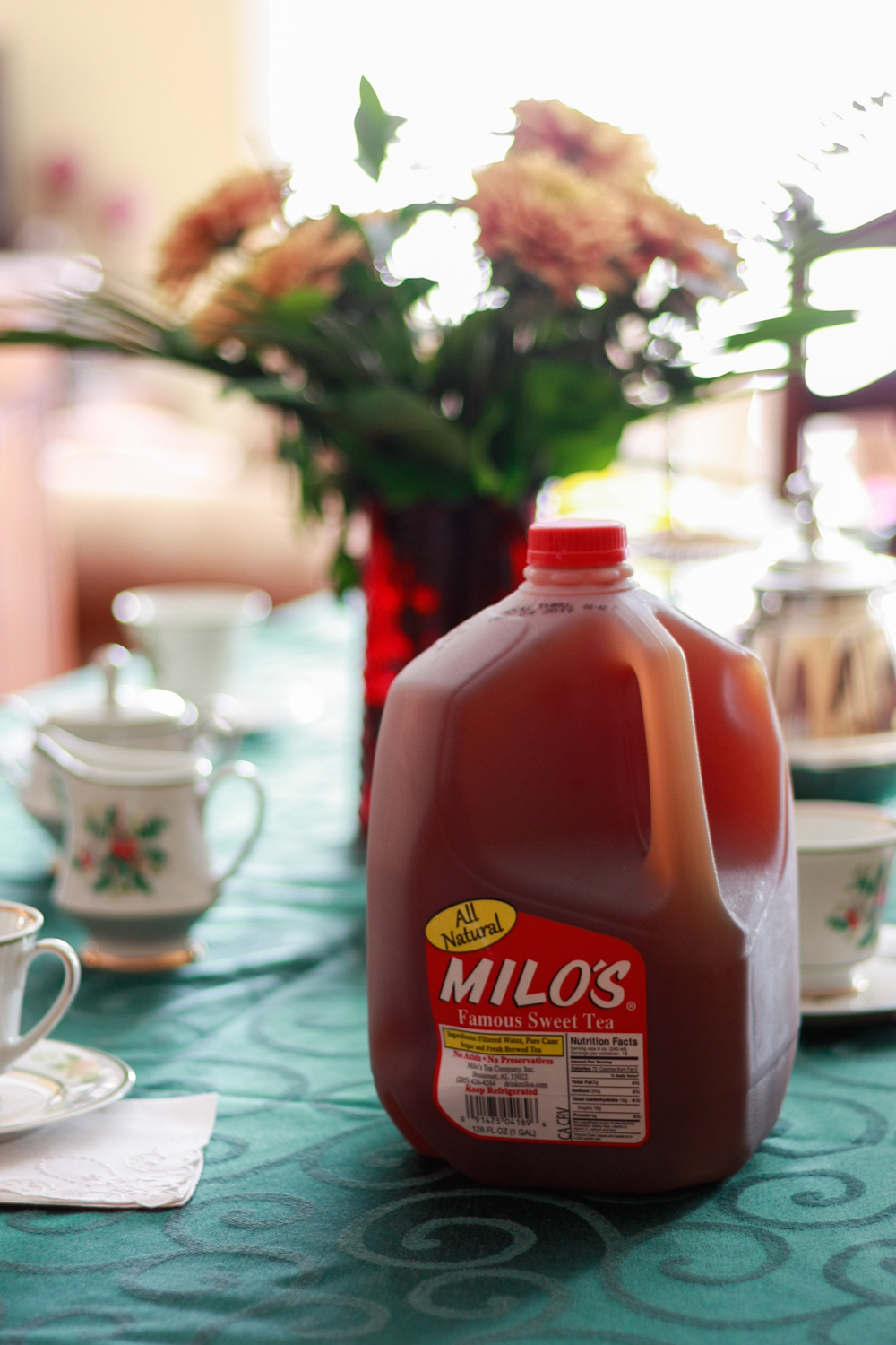 Hosting a Holiday Tea Party with Milo's Tea