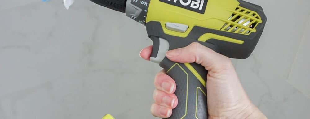 DIY Drill Brush - Make A Drill Scrub Brush