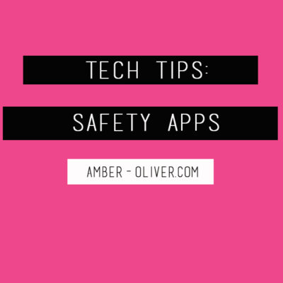 Tech Tips: Safety Apps