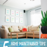 Get ready for the hottest season of the year with these home maintenance tips for summer! #homemaintenance #home #summer
