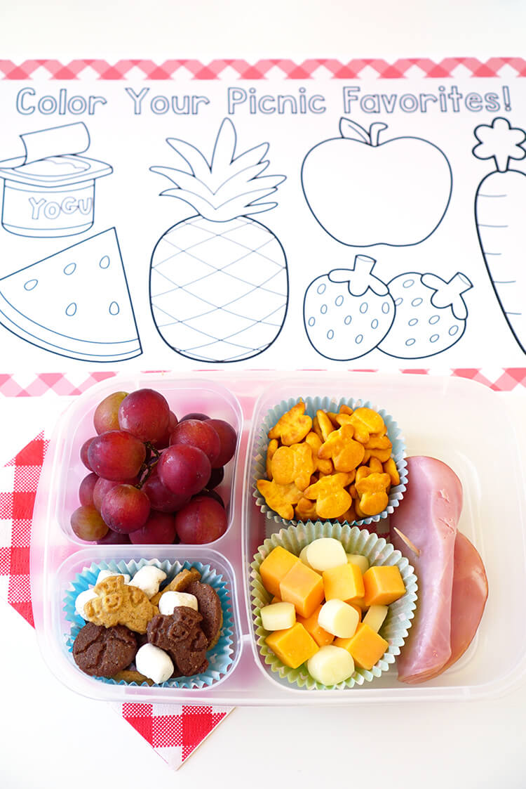 diy picnic placemat