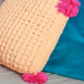 how to make a loopity loops pillow
