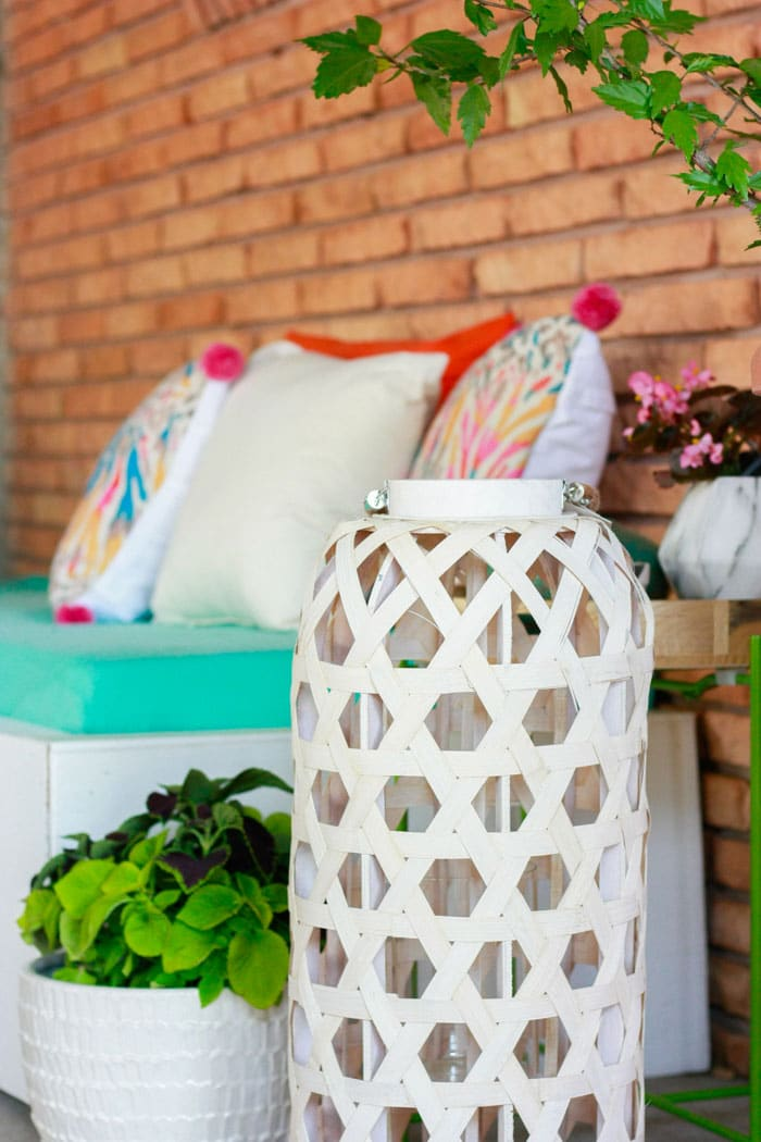 patio decorating ideas with decor from At Home Stores