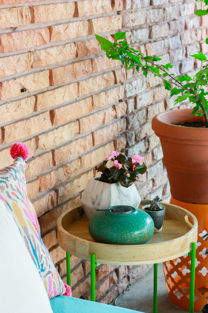 colorful patio decor - patio decorating ideas with decor from At Home Stores