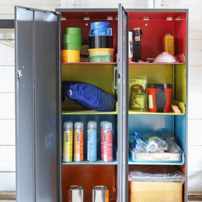 Garage Organization Ideas: How To Store Paint Supplies