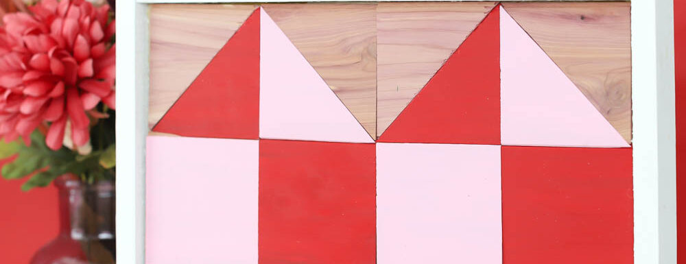How To Make A Barn Quilt with cedar planks