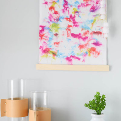 How to Make A Simple DIY Wall Hanging