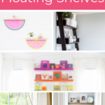 10 creative ways to use floating shelves
