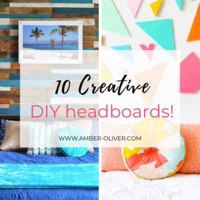DIY Headboard Ideas: 10 Great Projects!