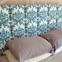 Easy Upholstered Tufted Headboard