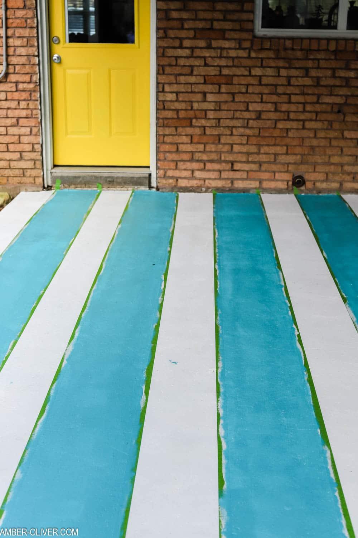 how to paint concrete patio floor