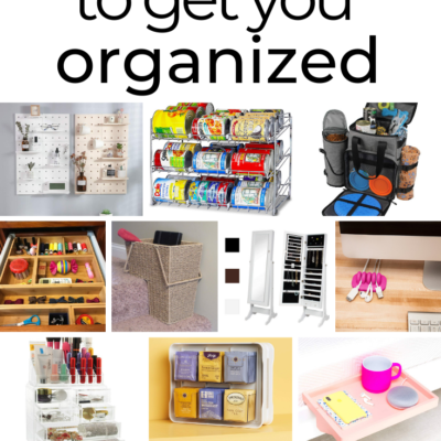 30 Items To Organize Your Life