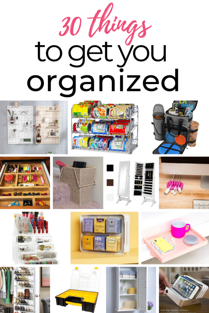 30 things to get you organized