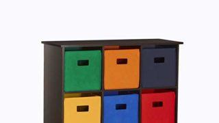 6 Bin Storage Cabinet