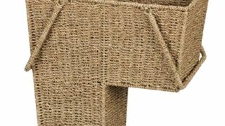 Stair Step Basket with Handle