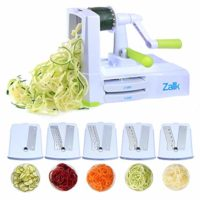 5-Blade Vegetable Spiral Slicer With Powerful Suction Base