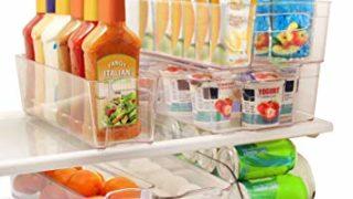 Refrigerator and Freezer Stackable Bins