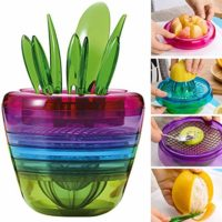 Creative Fruits Plant Multi-Purpose Kitchen Tool Set of 10