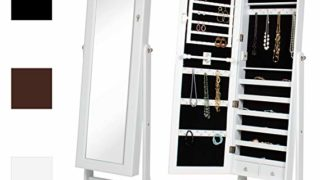 Mirrored Jewelry Cabinet
