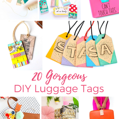 20 Gorgeous Luggage Tags