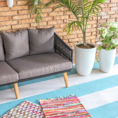 Our Colorful Patio Reveal