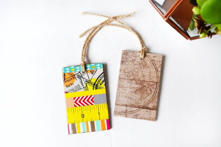 DIY Luggage Tag - Make a Statement