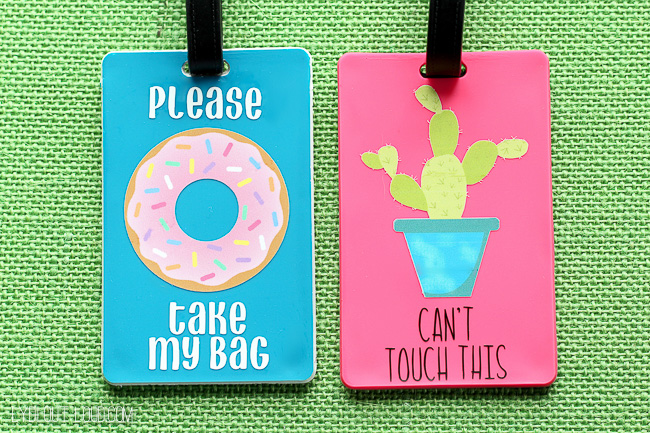DIY Luggage Tags (That Talk)