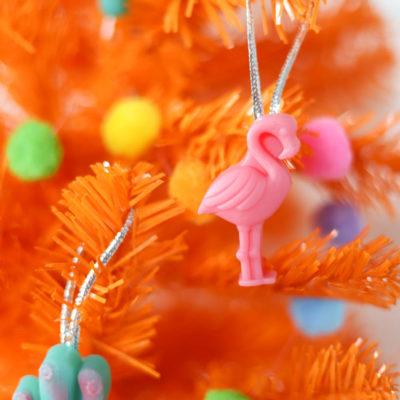 Resin Flamingo Ornaments – DIY Christmas Ornaments