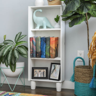 How To Turn Dresser Drawers Into Shelves