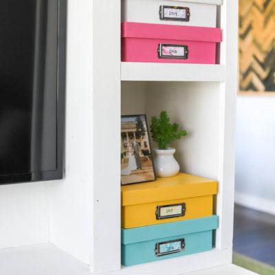 DIY Memory Boxes
