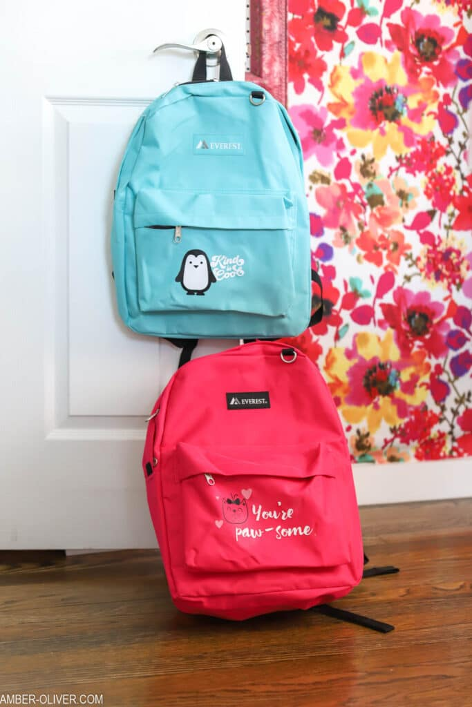 cricut backpacks for Foster Children