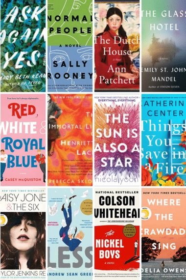 collage of books to read in 2021