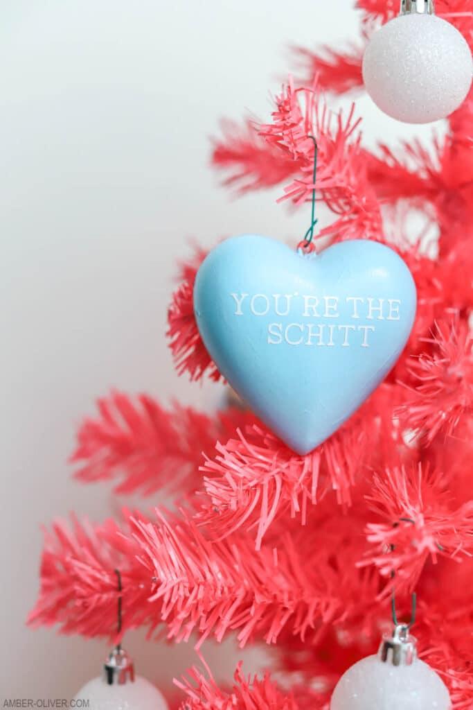 Schitts Creek Valentines Day Tree