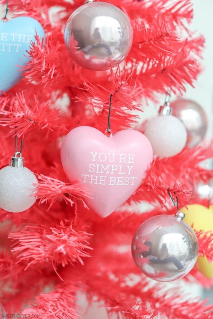 Schitts Creek ornaments for Valentine's Day Tree