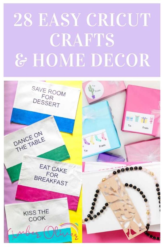 cricut crafts pin collage with text overlay