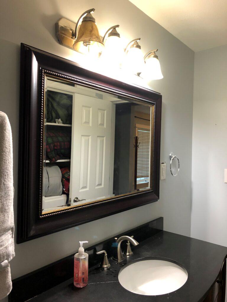 before of bathroom